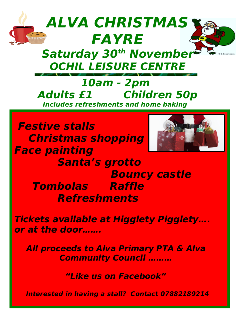 ALVA CHRISTMAS FAIR 2