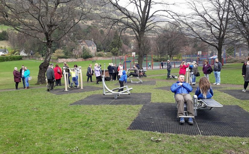 Alva Outdoor Gym, Official Opening, Saturday 14 April 2018