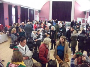 A Busy Hall - Photo by Lynn Cameron