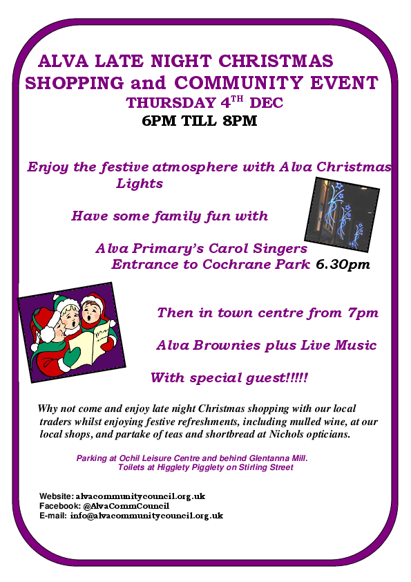 ALVA LATE NIGHT SHOPPING 2014