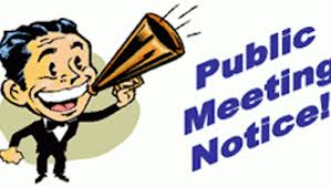 Monthly Public Meetings – New Venue