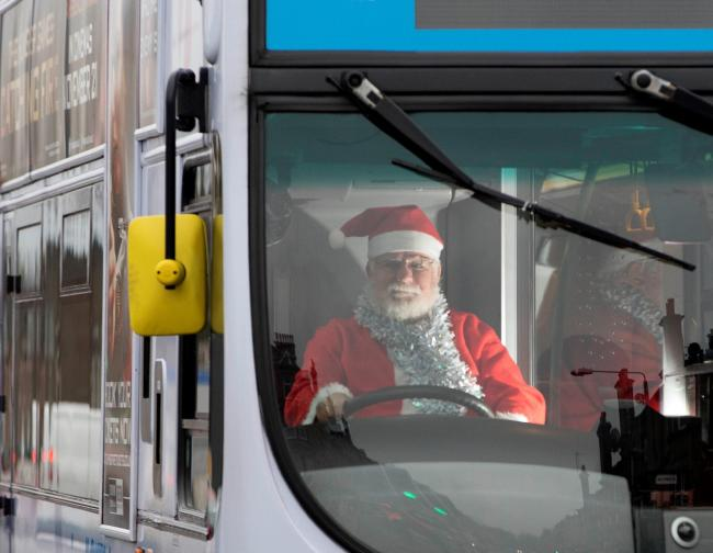 Festive Bus Times (First Midland)