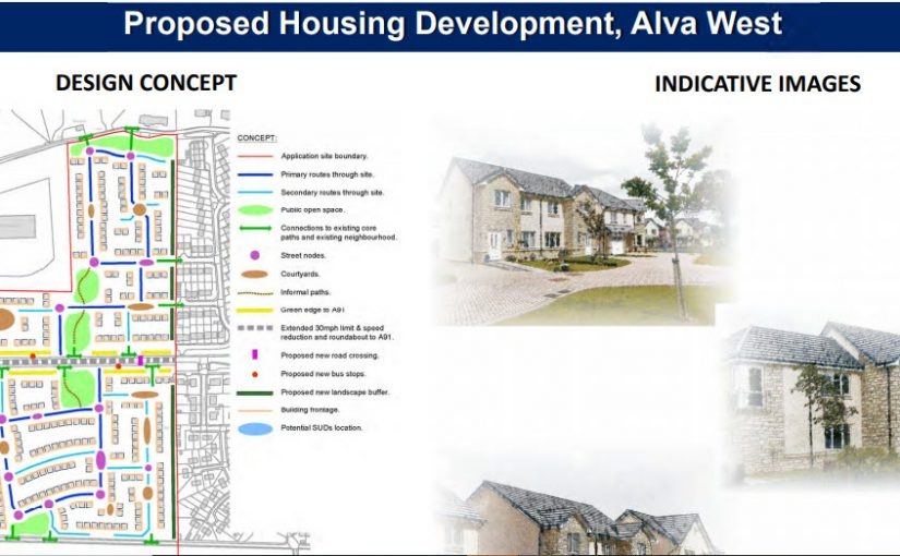 Proposed Alva West Development – Online Public Consultation Event