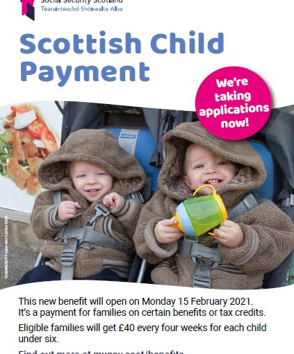 Scottish Child Payment Information