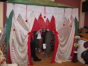 Outside Santa's Grotto - Photo by Lynn Cameron